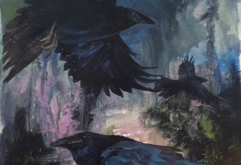 Path of the 3 Ravens