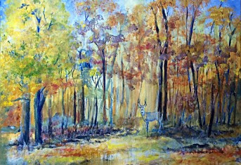 Raining Golden Leaves