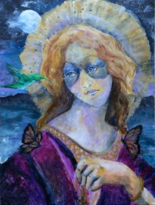 St Belle Etoile (beautiful star), new painting